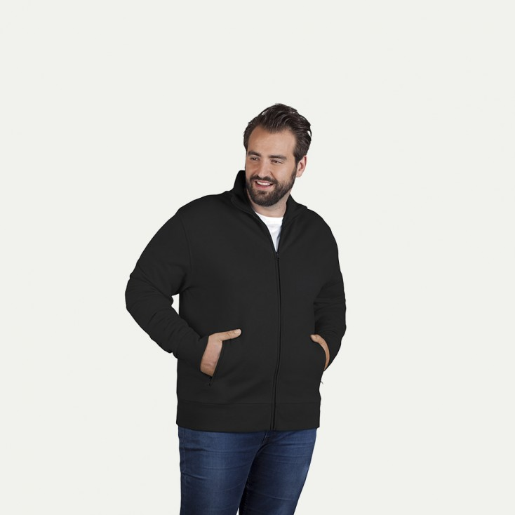 Sweat homme col montant