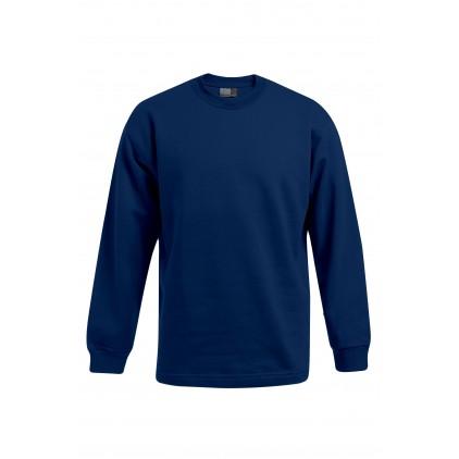 Sweatshirt mit Bündchen Plus Size Herren
