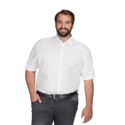 Chemise en popeline homme manches longues grande taille