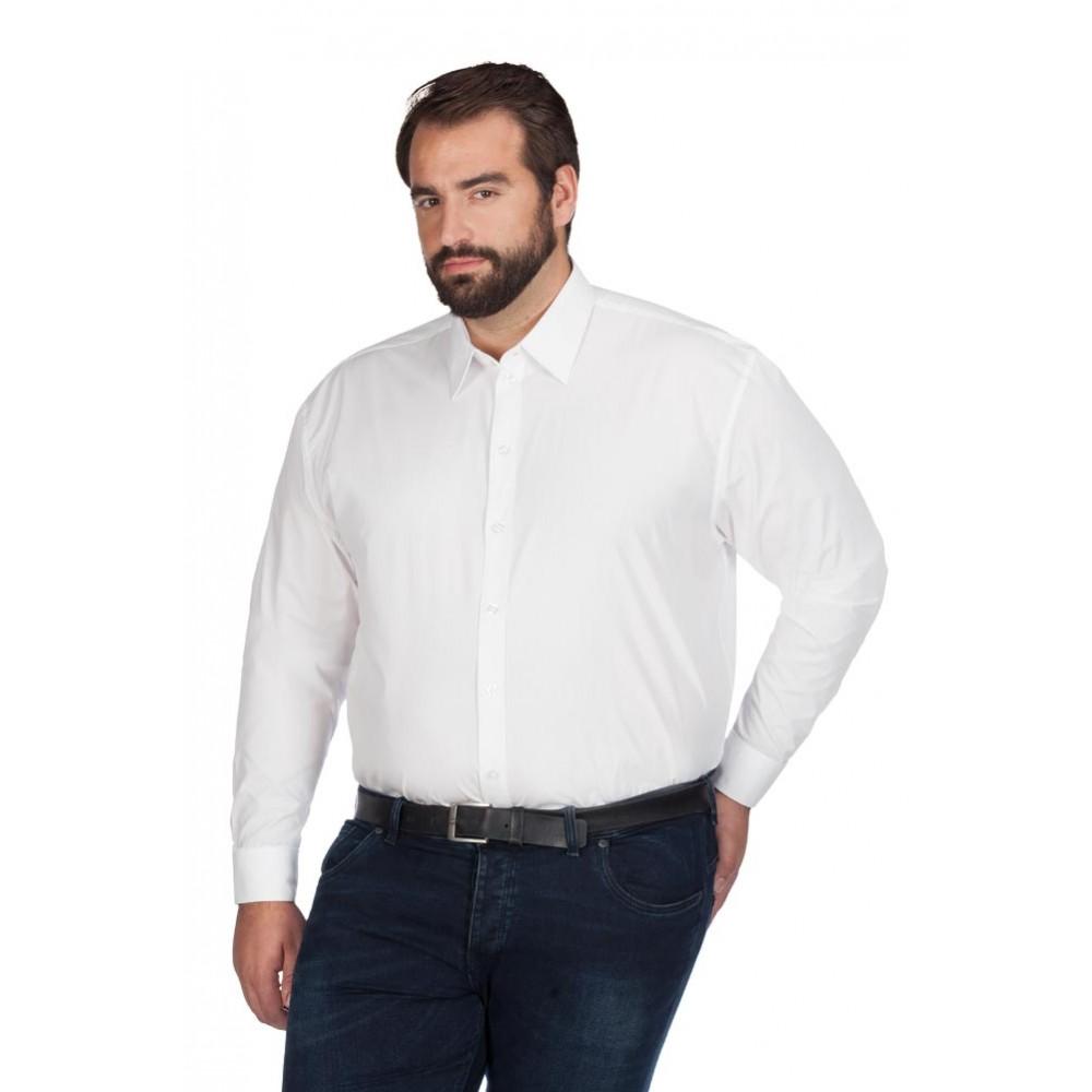 Men's Poplin Shirt Longsleeve Plus Size