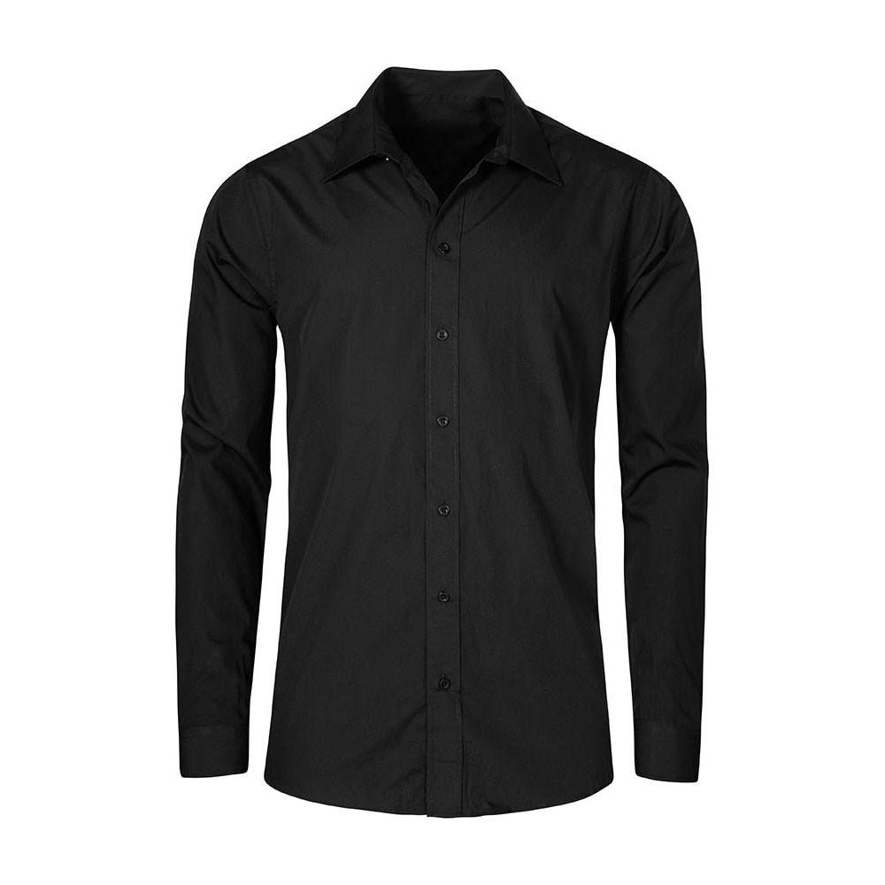 Men 39 s poplin shirt longsleeve plus size for What is a poplin shirt