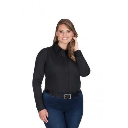 Damen Langarm-Bluse
