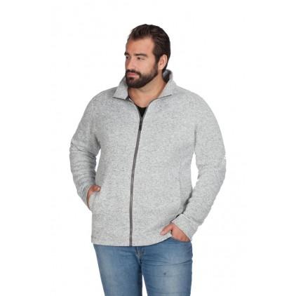 Veste en laine homme C+ grande taille