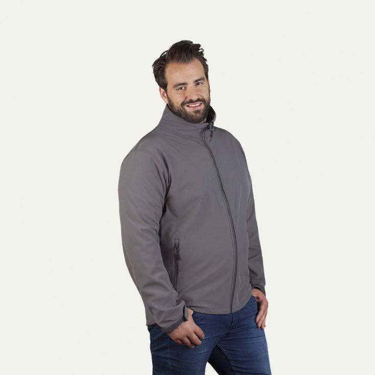 Veste Softshell C+ grande taille Hommes