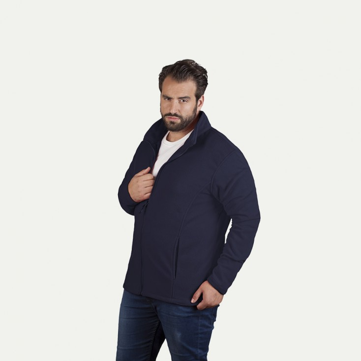 Leichte Fleece Jacke C+ Plus Size Herren