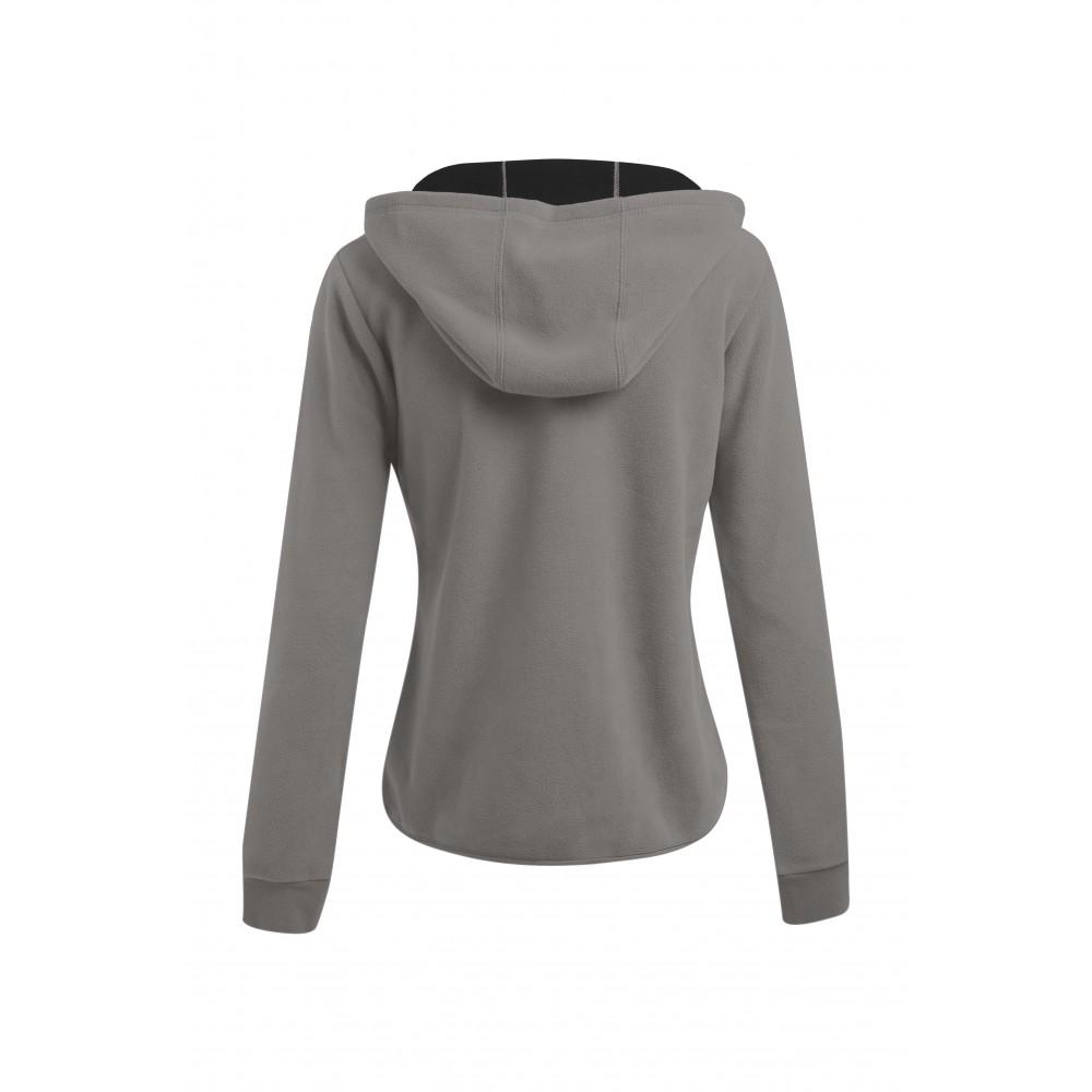 veste polaire capuche zipp grande taille femmes. Black Bedroom Furniture Sets. Home Design Ideas