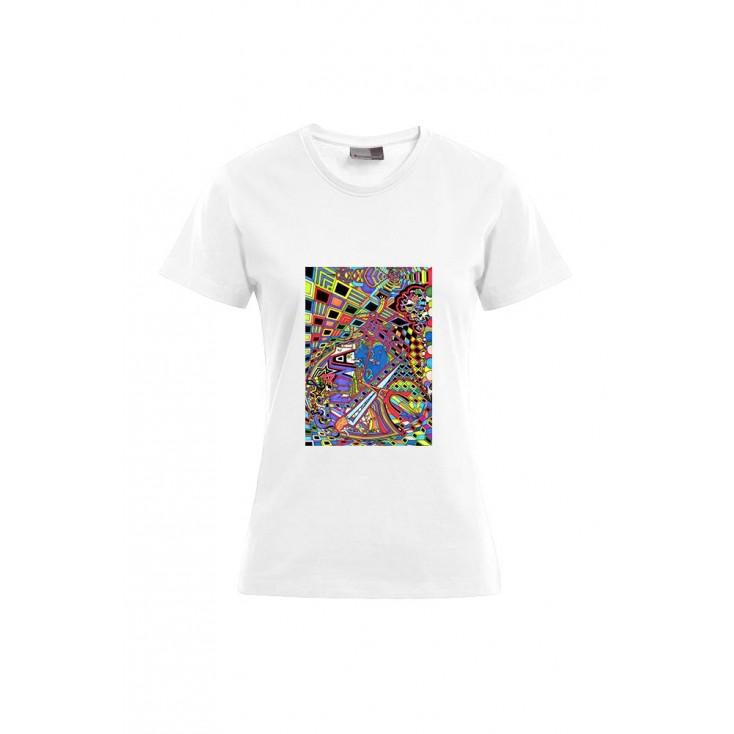 Universum Paradigme - Artiste : T. Baudouin - T-shirt Premium femme