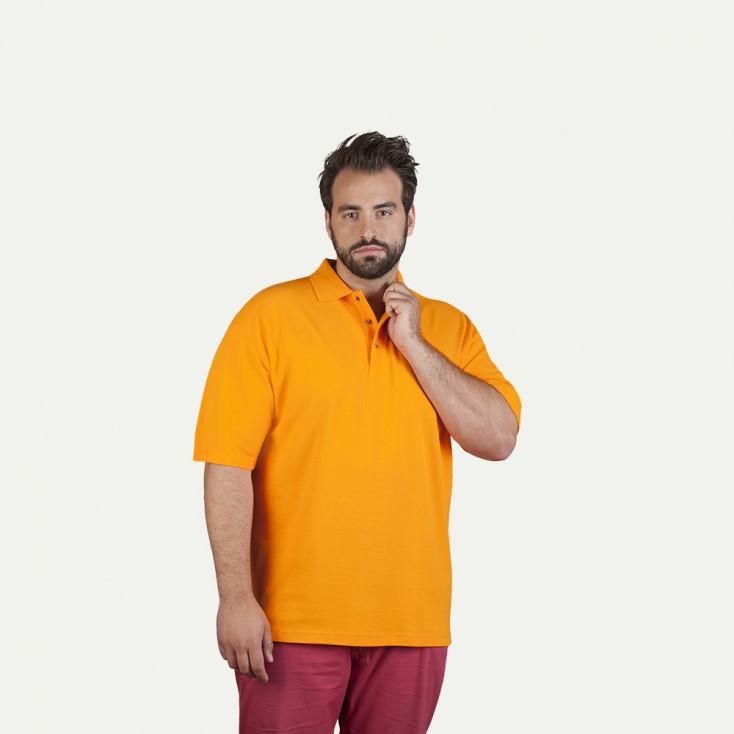 Polo épais Hommes promotion, L, orange