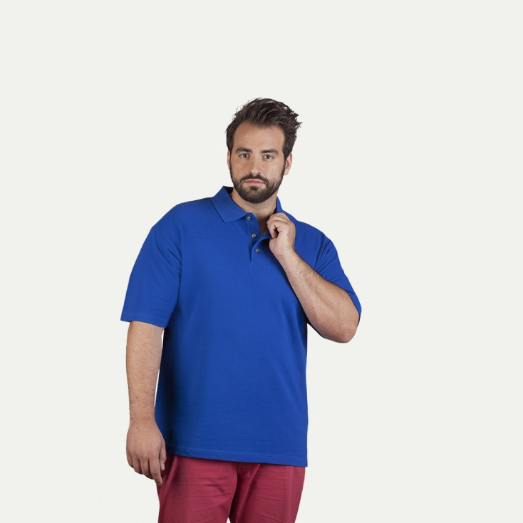 Heavy Poloshirt Plus Size Herren