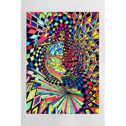 Escalade - Artiste : T. Baudouin - T-shirt Premium homme