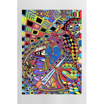 Universum Paradigme - Artiste : T. Baudouin - T-shirt Premium homme