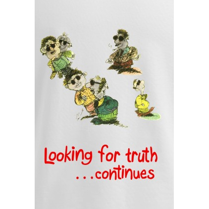 Looking for truth - Artiste : Mutaz - T-shirt Premium homme