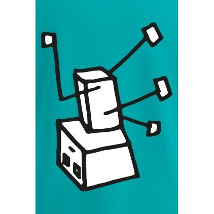 "Print ""Breakdance Robot"" - T-shirt Premium homme grande taille"