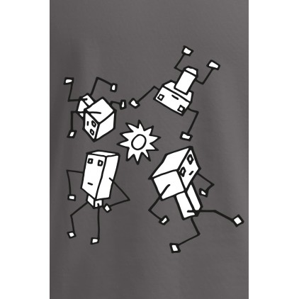 Robot 3 - Artiste : Chui - T-shirt Premium homme