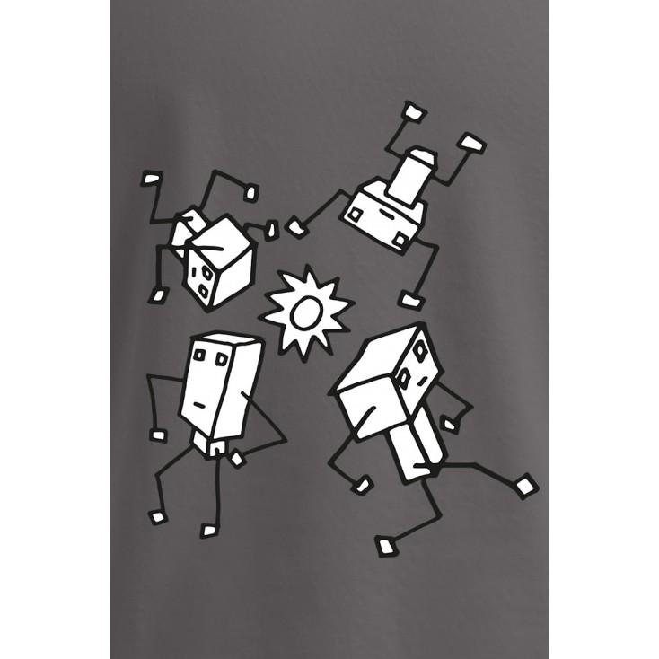 "Print ""Sundance Robots"" - T-shirt Premium homme grande taille"