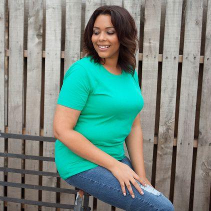 T-shirt bio grande taille Femmes