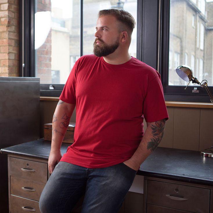 Premium T-shirt Plus Size Men