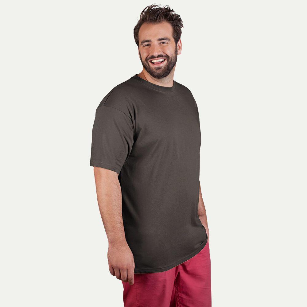 Working t shirt 80 20 plus size men for Plus size men shirts