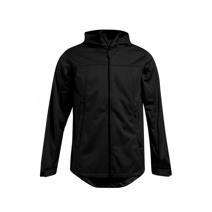 Veste sweat capuche Softshell grande taille Hommes promotion