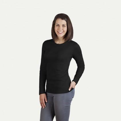 Interlock Langarmshirt Damen Sale