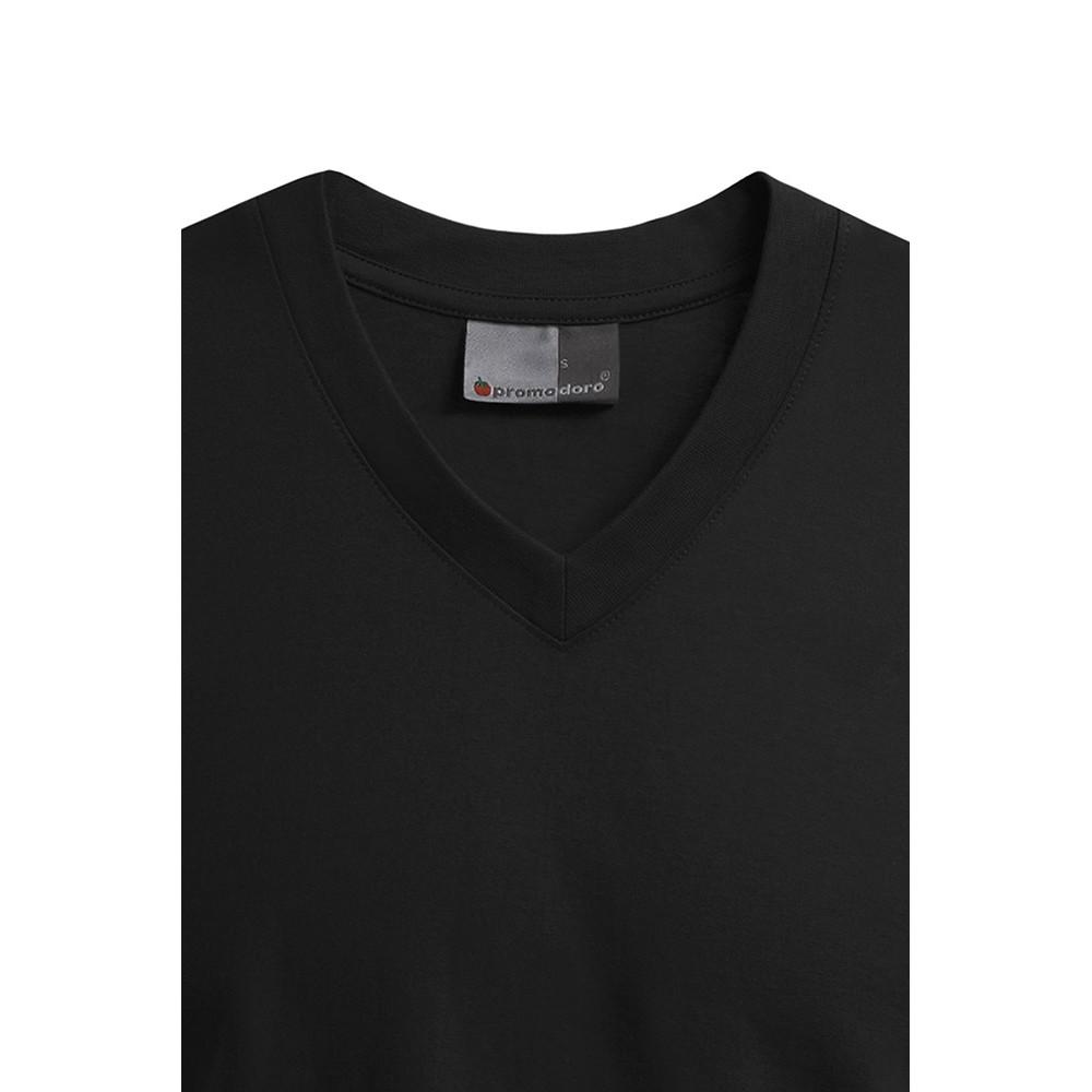 Basic V Neck T Shirt Men
