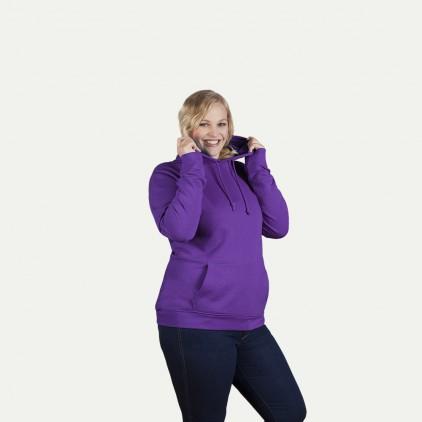 Sweat à capuche femme grande taille