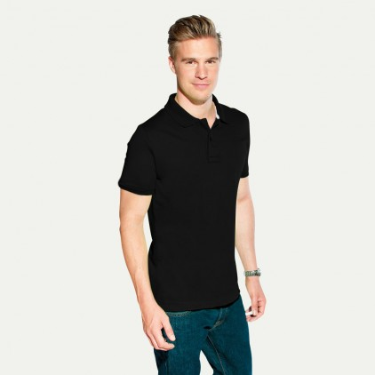 Polo homme en jersey simple