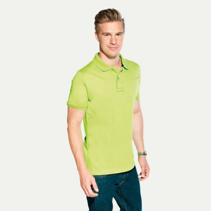 Single-Jersey Poloshirt Herren Sale