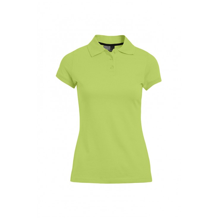 Polo Jersey simple grande taille Femmes promotion