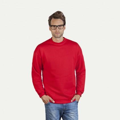 Herren Sweatshirt mit Bündchen