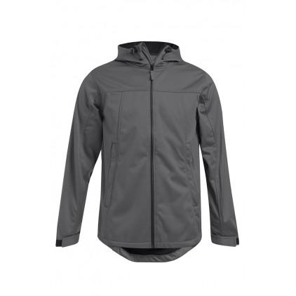 Softshell Hoodie Jacket Plus Size Men