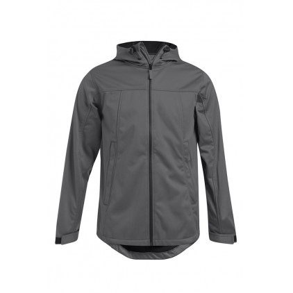 Veste softshell capuche homme grande taille
