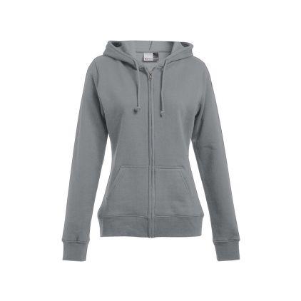 Zip Hoodie Jacke 80-20 Plus Size  Damen