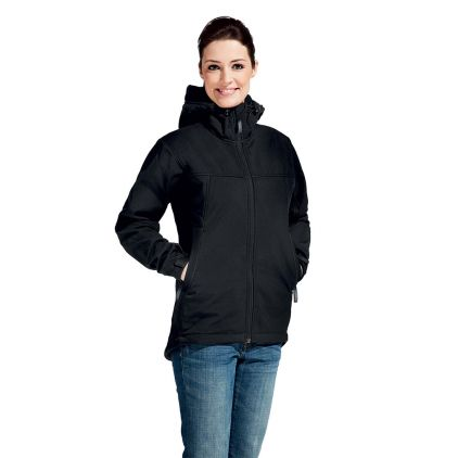 Veste sweat capuche Softshell Femmes promotion