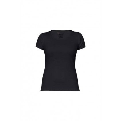 Rib T-shirt Plus Size Women