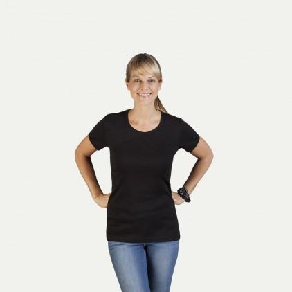 Ripp T-Shirt Damen