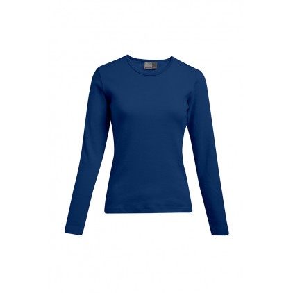 T-shirt interlock manches longues grande taille Femmes