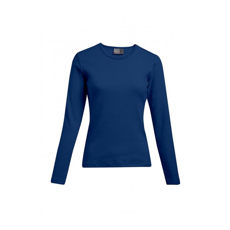 T-shirt interlock manches longues grande taille Femmes