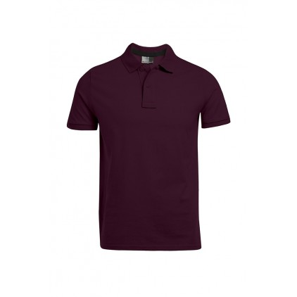 Polo Jersey simple grande taille Hommes
