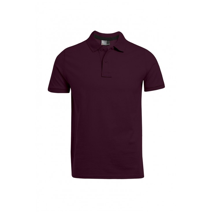 Polo homme en jersey simple grande taille