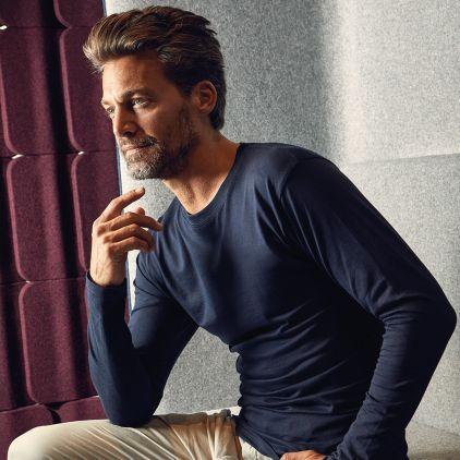 T-shirt Premium manches longues Hommes