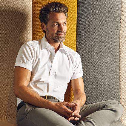 Business Shortsleeve shirt Men