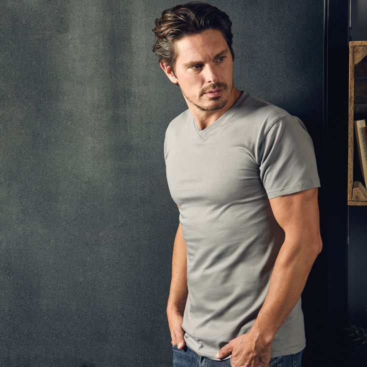 Premium V-Neck T-shirt Men