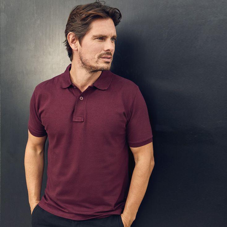 Polo homme en jersey simple