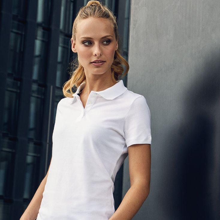 Single Jersey Polo shirt Women