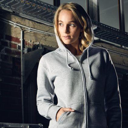 Veste sweat capuche zippée 80-20 Femmes