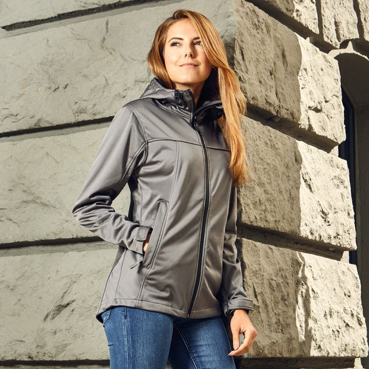 Veste sweat capuche Softshell Femmes