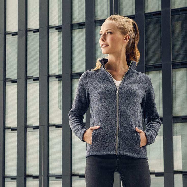 Knit fleece Jacket C+ Women