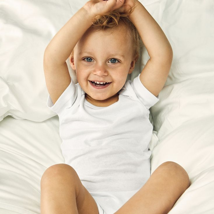 Baby Bodysuit Organic Cotton Shortsleeve Kids