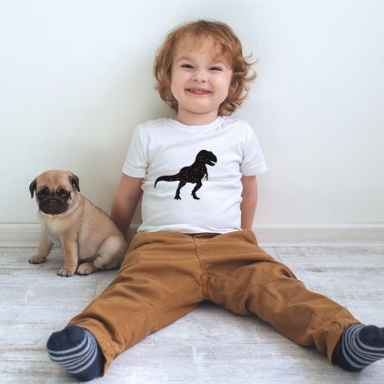 "Print ""Rex"" - Kids Fashion Organic-T"